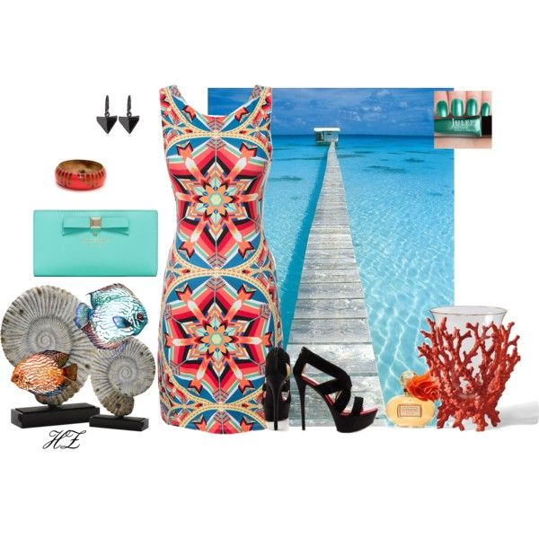 """""""Seaside Summer Outfit"""" by cog-hz on Polyvore"""