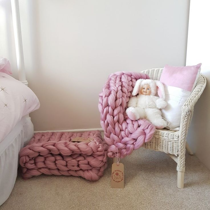 Children's chunky Knit Blanket Dolly And Me Sets ♡ Perfect Christmas Pressie