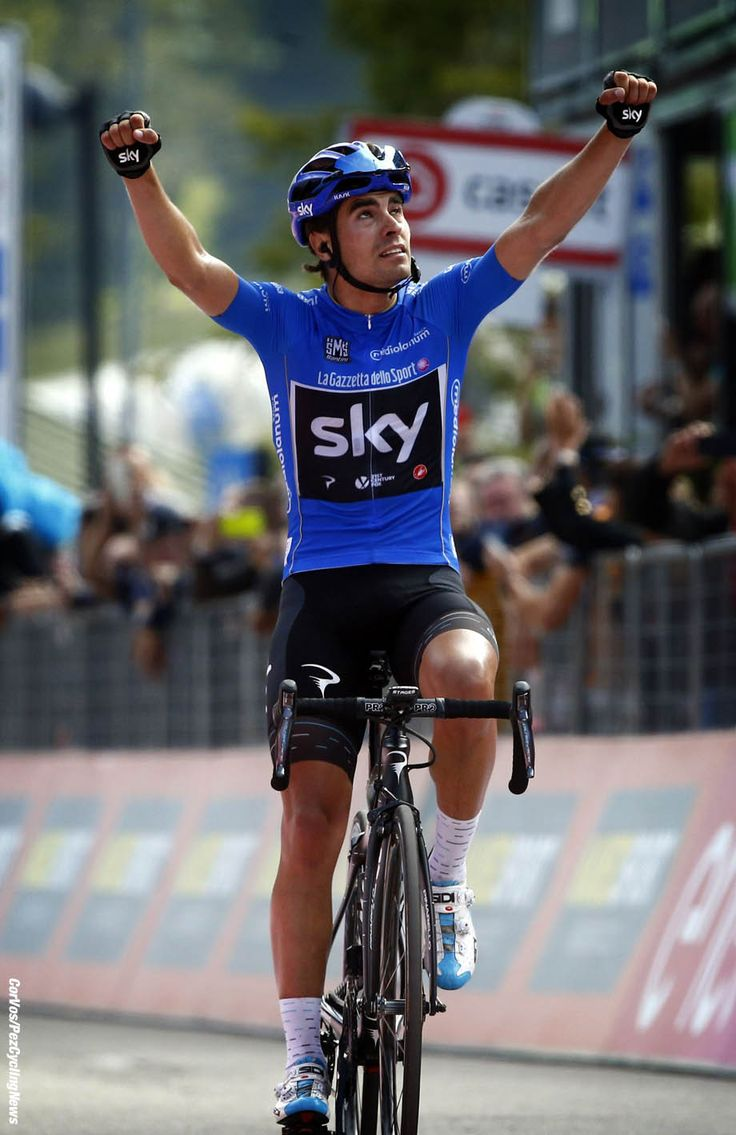 Mikel LANDA wins stage 19 of the Giro D'Italia 2017 photo LB/RB/Cor Vos © 2017