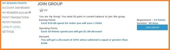 Customer Loyalty with Reward Points in Magento