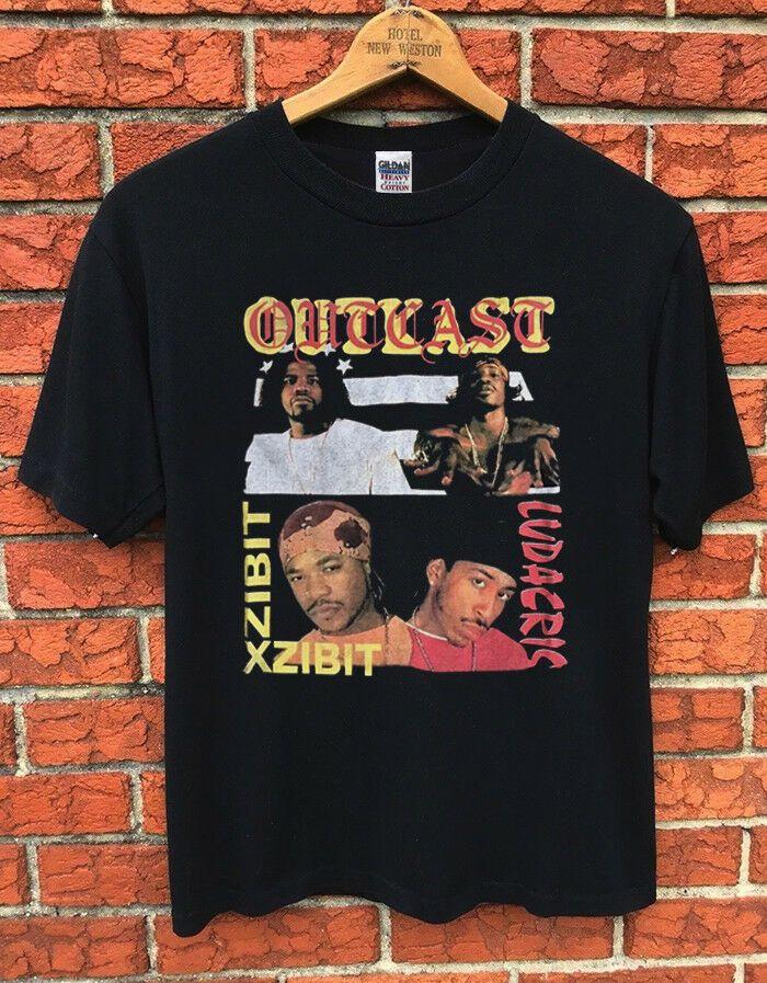 bd6ffe0d Vintage RARE!! 2001 OUTKAST LUDACRIS XZIBIT CONCERT TOUR T-SHIRT rap ...