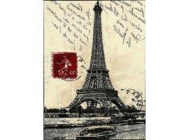 Tappeto Parigi Vintage