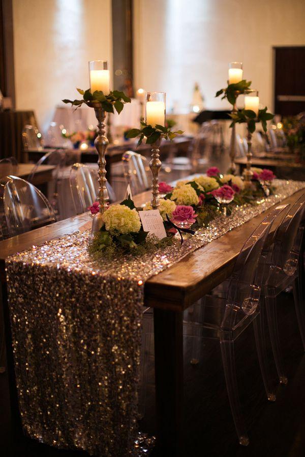 Elegant Grey And Purple Wedding Inspiration
