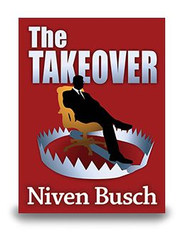 Fifty-two year old president Jed Basco has been fired from Basco and Western by a quorum of board members who want the old coot out. Not one to take a bombshell like that lying down, Jed plans a takeover of his own. Now in eBook $7.99 http://enetpress.com/books/The_Takeover.html