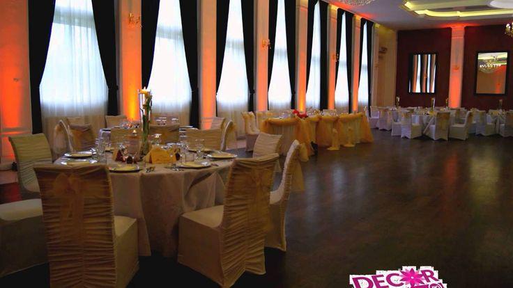Nunta la Aerostar Bacau - www.decorfestiv.ro