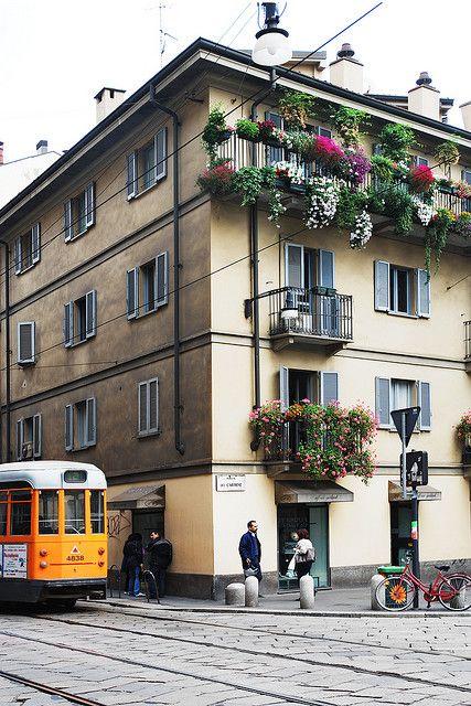 #Piazza del Carmine #Milano