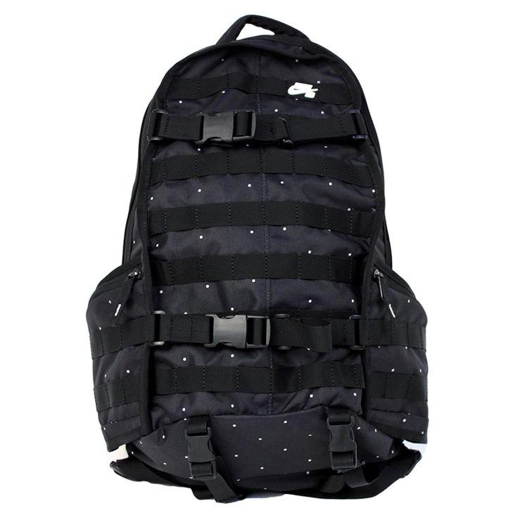 Nike SB RPM Backpack in Black, White Polka Dots