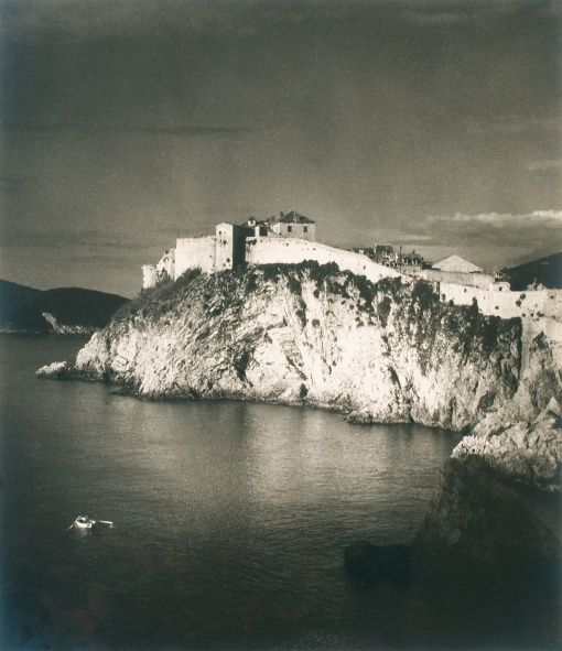Jan Lauschmann (1901 - 1991) Hradby v Dubrovniku, 1934