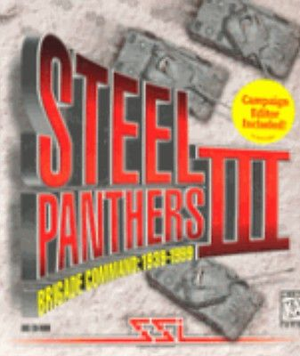 SSI Steel Panthers 3 III Bridge Command PC DOS CD supported in www.dosbox.com