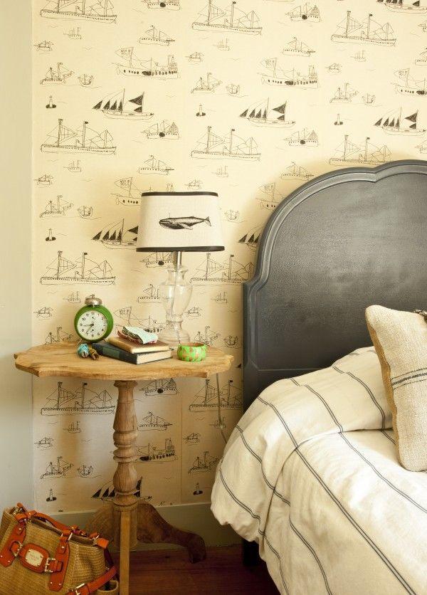 ferm living herringbone tapete. Black Bedroom Furniture Sets. Home Design Ideas