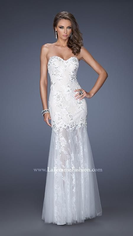 Great little prom dress for your wedding...in nude it would look great with boots!