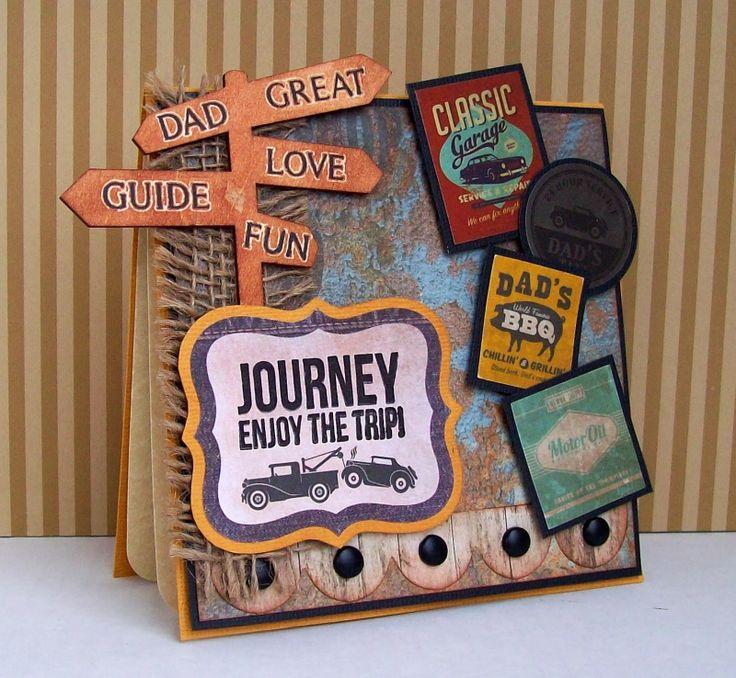 Best of Betsy's: Garage Days Cards - Kaisercraft