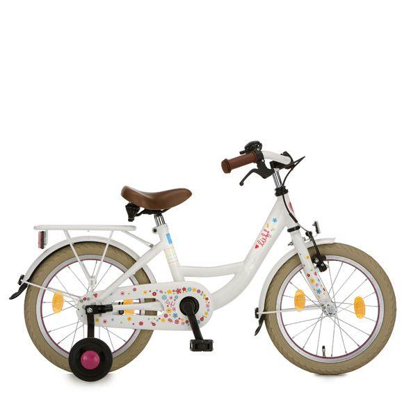 lief meisjes fiets voor de allerkleinsten. En zeg nou zelf... is hij niet: LIEF?