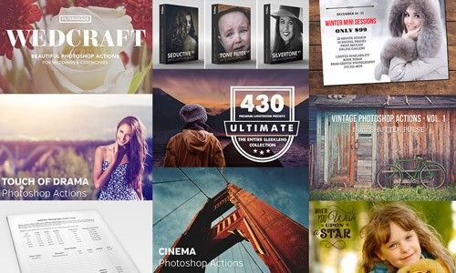 Every Photographer's Dream Bundle (Lightroom Presets, Photoshop Actions, and More) - Only $39