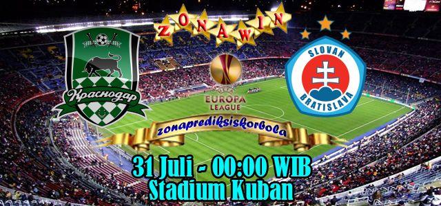 Prediksi Krasnodar vs Slovan Bratislava 31 Juli 2015