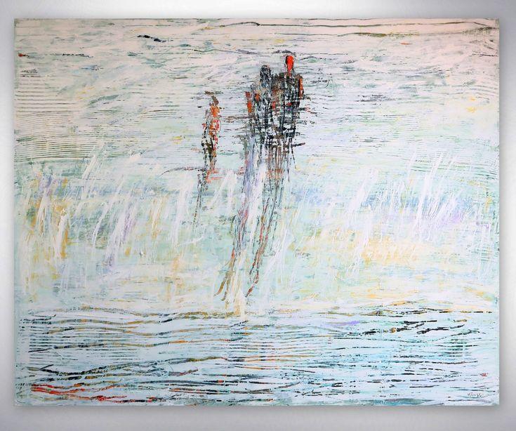 Künstlerin: Heidemarie Gramminger Kämpf Stil: Acryl Gemälde, Abstrakte Kunst,  Moderne Malerei