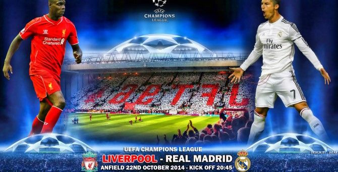 Real Madrid have never beaten Liverpool in an official match