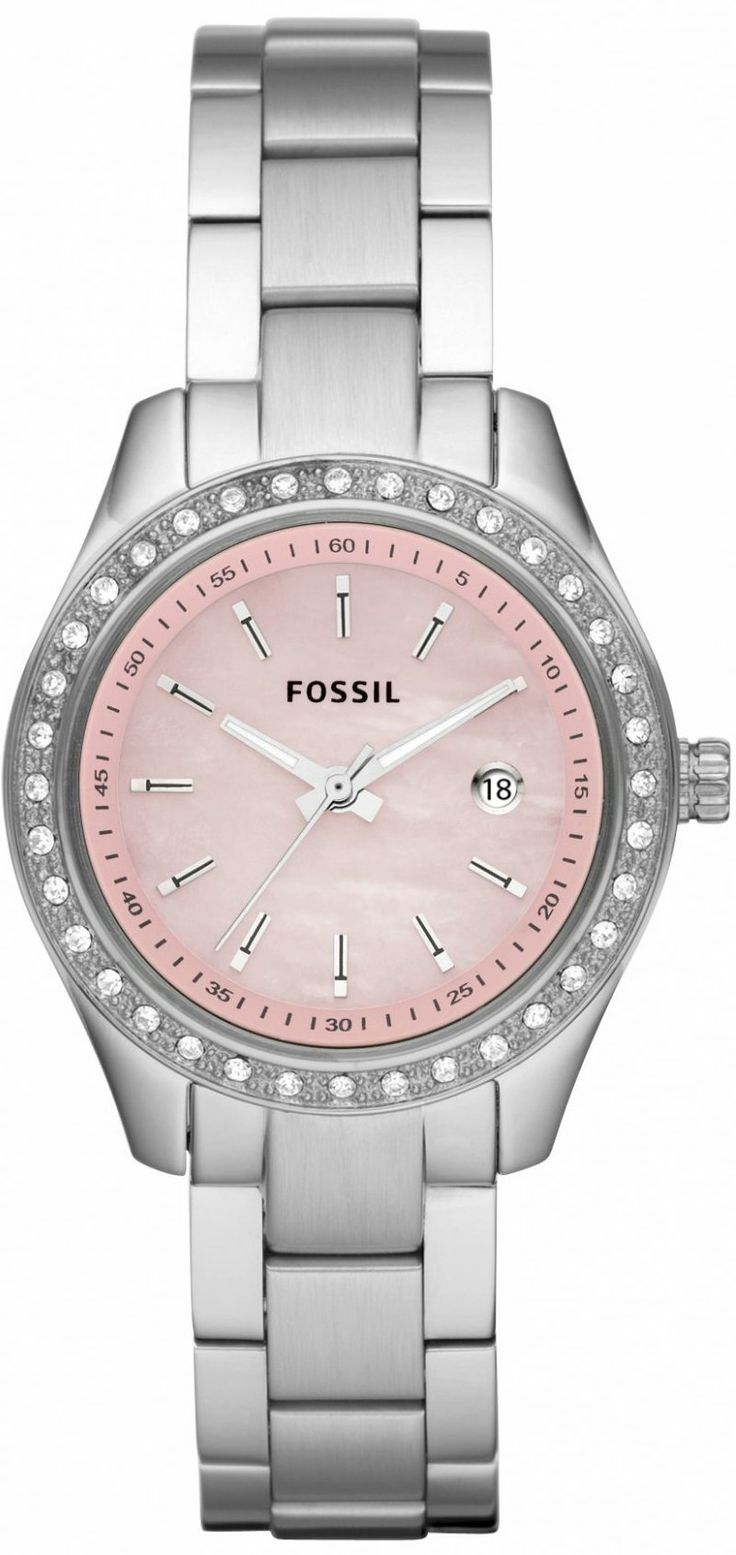 #Fossil #Watch Women's ES2999 Stella Pink Dial Watch