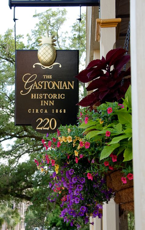 The Gastonian, Savannah, GA Beautiful B & B that I've stayed at.