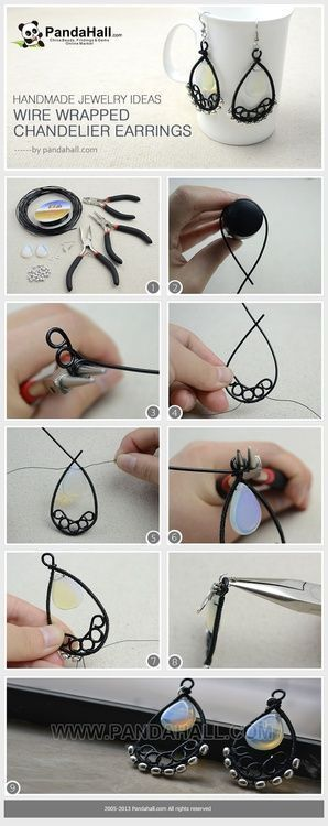 Description: Jewelry Making Tutorial–How to Make Wire Wrapped Chandelier Earrings is creative inspiration for us. Get more photo about Jewelry related with by looking at photos gallery at the bottom of this page. We are want to say thanks if you like to share this post to another people via …
