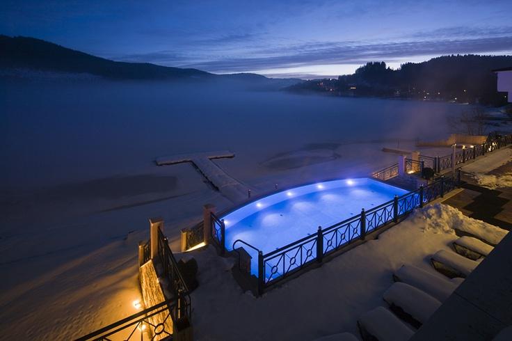 22 best exclusive outdoor pools images on pinterest. Black Bedroom Furniture Sets. Home Design Ideas