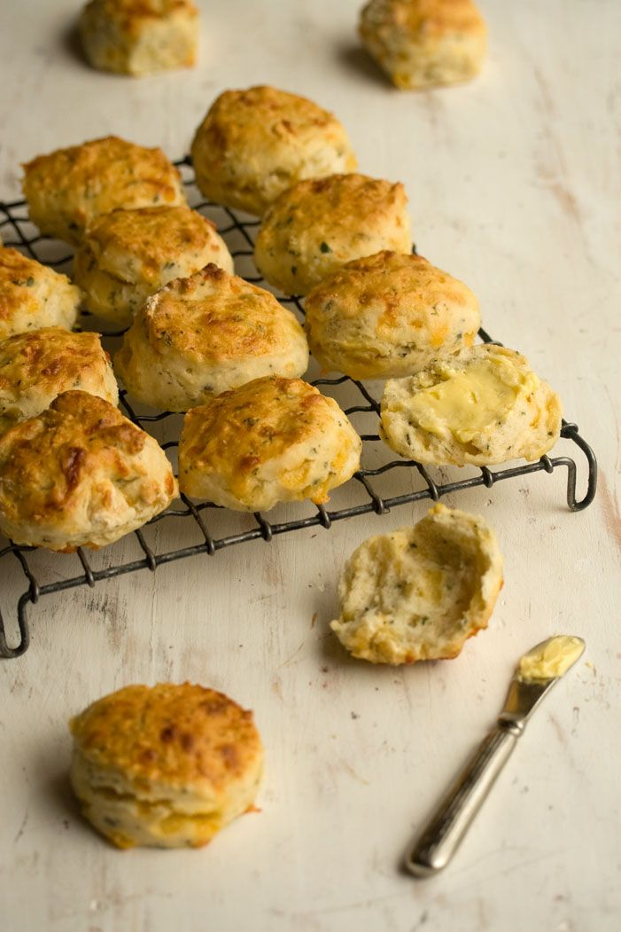 Easy cheese and herb scones.