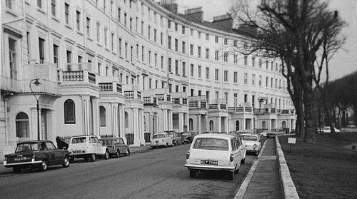 Adelaide Crescent, Hove 1971
