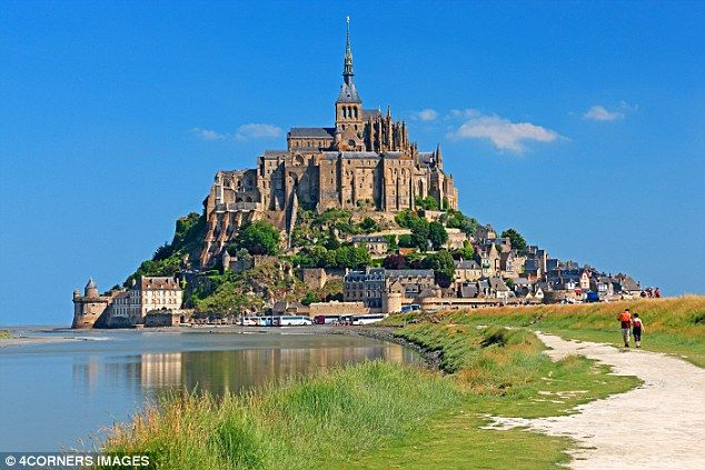 Holy island: Mont Saint-Michel, set in the bay where Brittany and Normany merge, is fun fo...