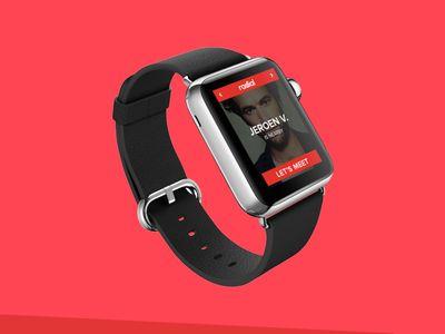 New social platform for smartwatch by Mark & Marten