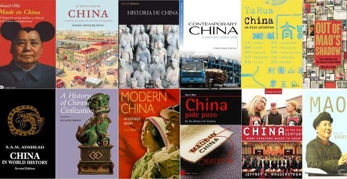 Bibliografía Historia de China. La lista contiene algunas de las obras más destacadas de la Historia de China con libros en inglés, español, catalán y gallego.