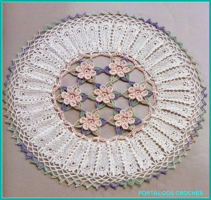 Circular Motif Crochet Diagram Free Crochet Kingdom