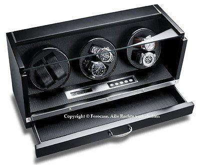 HELIOS X Profi Uhrenbeweger MEISTERWERK SpECIAL für Schweizer Uhren Watch Windersparen25.com , sparen25.de , sparen25.info