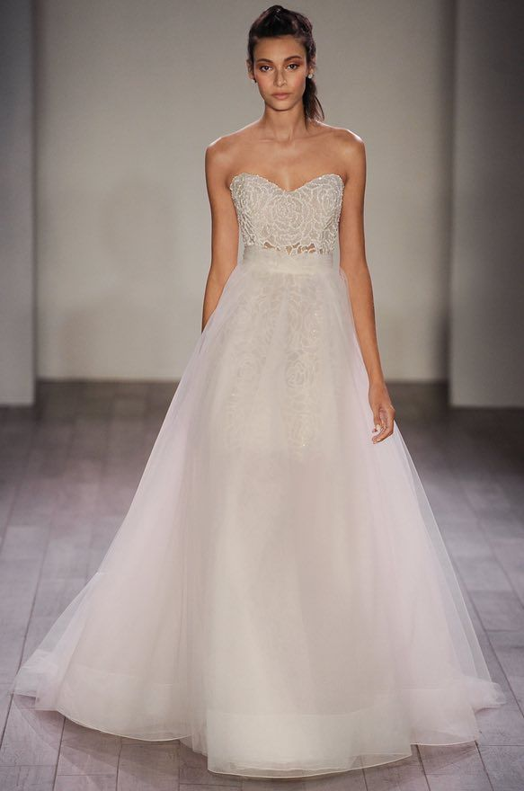 romantic ballgown Jim Hjelm wedding dresses
