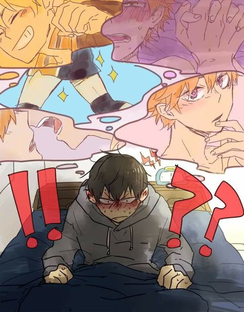 kagehina. And what were you dreaming about Kageyama?