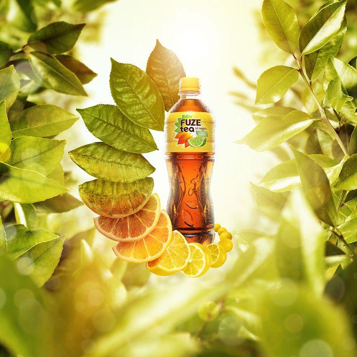 Fuze Tea - Atrévete a fusionar on Behance