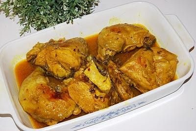 Kurczak  na kwaśno Murgh Windaloo