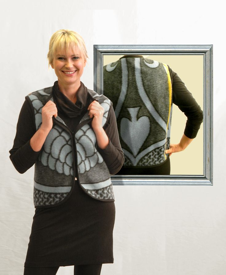 Waiscoat made from Traditional Lesotho Blanket manufactured by WEISS Cape Town in South Africa