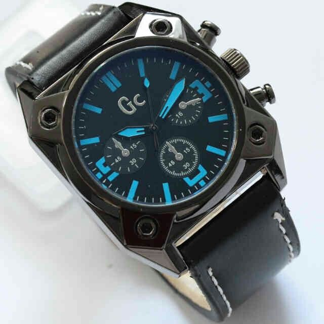 Jam Tangan GC d:4,3cm, chrono hiasan+box HARGA:239 Pin:331E1C6F 085317847777  1. WEB:  www.butikfashionmurah.com  2. FB:  Butik Fashion Murah https://www.facebook.com/pages/Butik-Fashion-Murah/518746374899750  3. TWITTER:  https://twitter.com/cswonlineshop 4. PINTEREST:  https://www.pinterest.com/cahyowibowo7121/  5. INSTAGRAM:  https://instagram.com/sepatu_aneka_model/