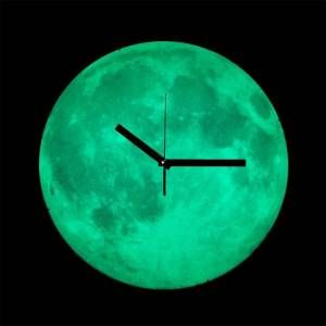 Karanlıkta Parlayan Ay Saat - 159,90 TL #doğumgünühediyeleri