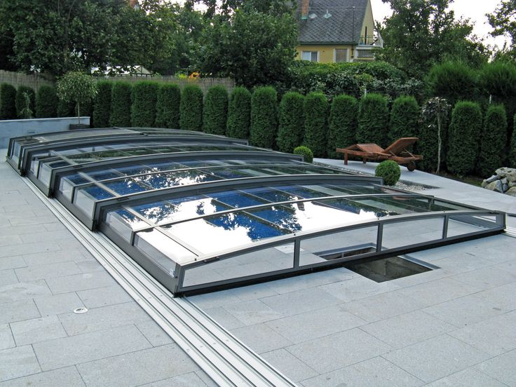63 Best Swimming Pool Track Glass Closure Retractable Swimming Pool Enclosure Images On
