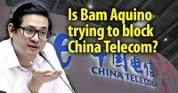 Possibly pala? Bam Aquino suddenly files a bill to improve internet speed without the entry of China Telecom SHARE