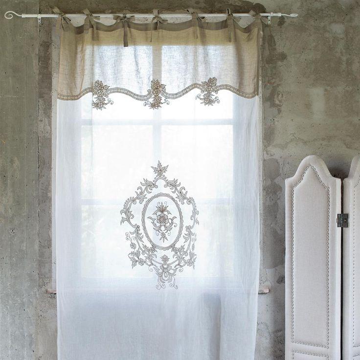 1362 1362 cortinas pinterest cortinas for Cortinas salon rustico