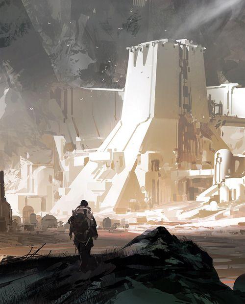 Sci Fi City.