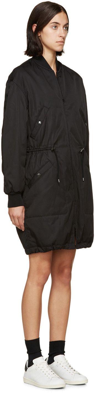 Isabel Marant Etoile Black Adam Coat