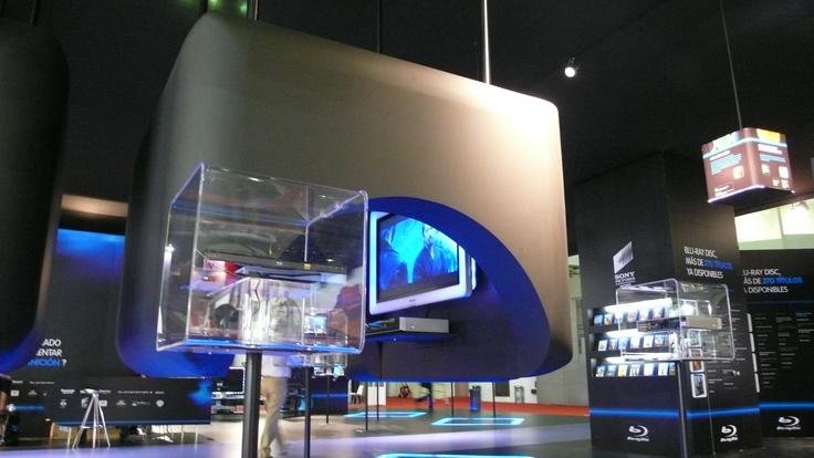 Exhibition Stand Technology : Stand by servis sonimag builder barcelona spain