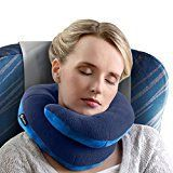 #9: BCOZZY Chin Supporting Travel Pillow  Supports the Head Neck and Chin in Maximum Comfort in Any Sitting Position. A Patented Product. (ADULT NAVY)