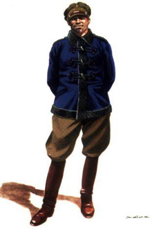 Oficial de Artilleria.Invierno.1931