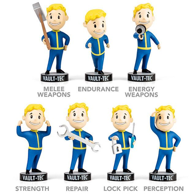 You may now own your own Vault-Tec bobbleheads, without putting your life on the line by getting one from a deathclaw den.