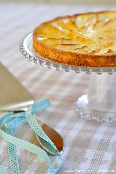 Tarte aux pommes à ma façon (Französische Apfeltarte) | Französisch Kochen by Aurélie Bastian