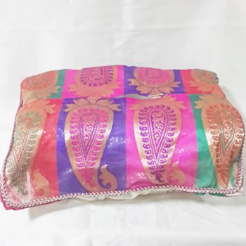 Elegant Chanderi Tissue Paper Box.